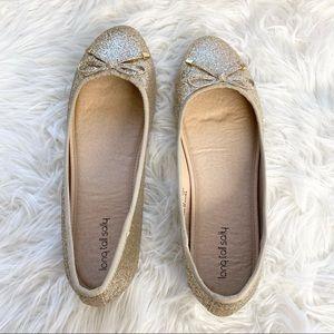 Long Tall Sally Farrah Round Toe Ballerina